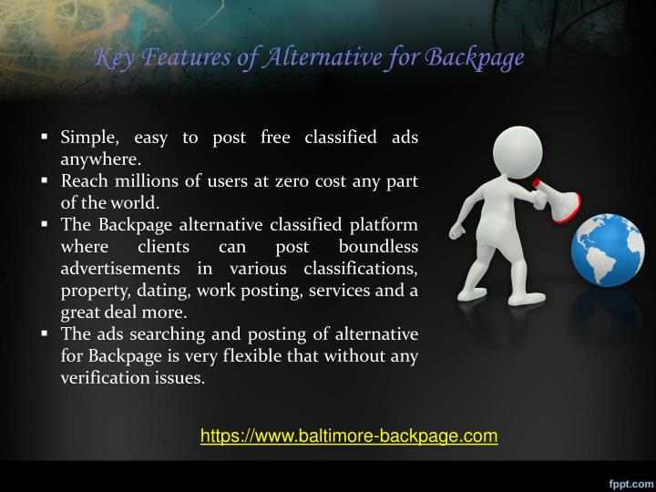 Key Features Of Alternative For Backpage