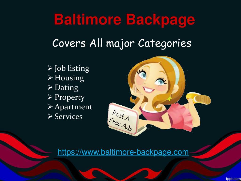 Baltimorebackpage