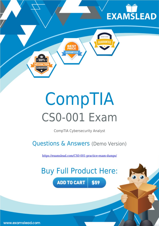 PPT - CS0-001 Exam Dumps | CompTIA CySA CS0-001 Exam
