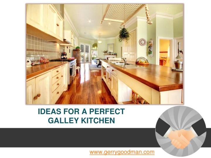 ideas for a perfect galley kitchen n.