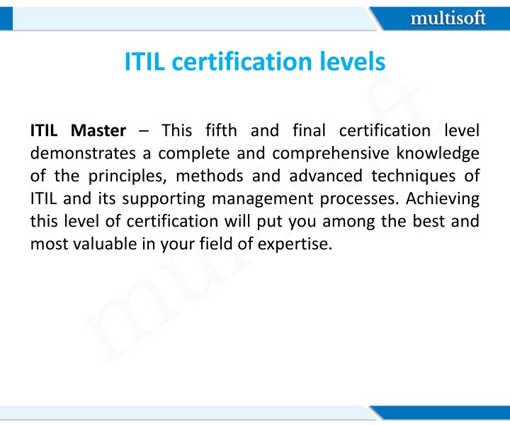 Ppt An Overview Of Itil Certification Powerpoint Presentation Id