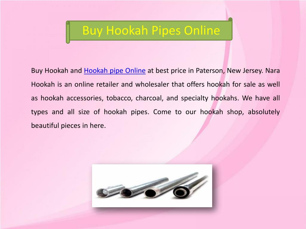 PPT - Buy Hookah Pipes PowerPoint Presentation - ID:7974321