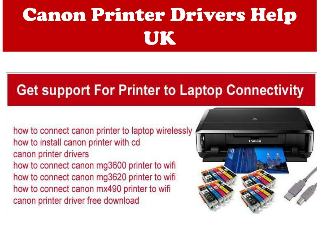 PPT - How You Can Configure WIFi To The Canon Printer for Printing