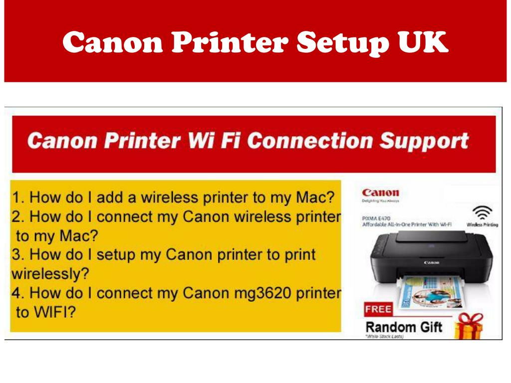 PPT - How You Can Configure WIFi To The Canon Printer for