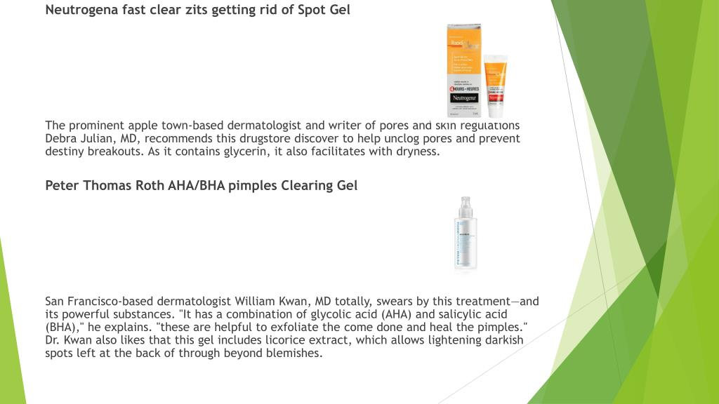 PPT - Best Acne Spot Treatment PowerPoint Presentation - ID:7975180