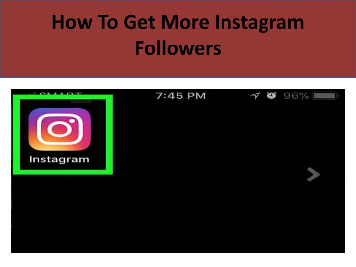 how to get more instagram followers n.
