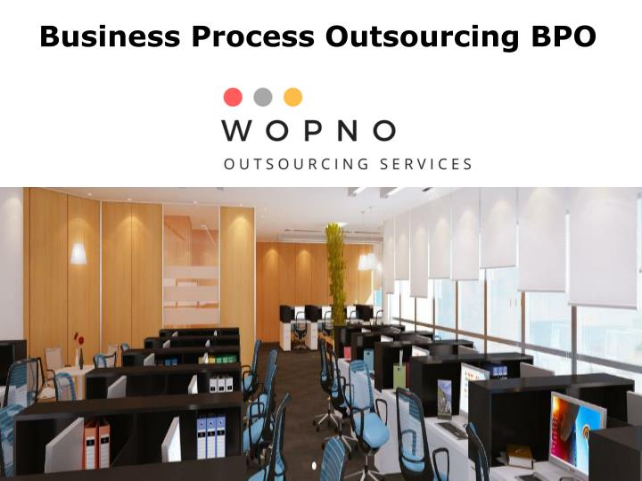 business process outsourcing bpo n.