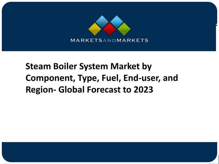 PPT - Steam Boiler System Market by Component, Type, Fuel, End-user ...