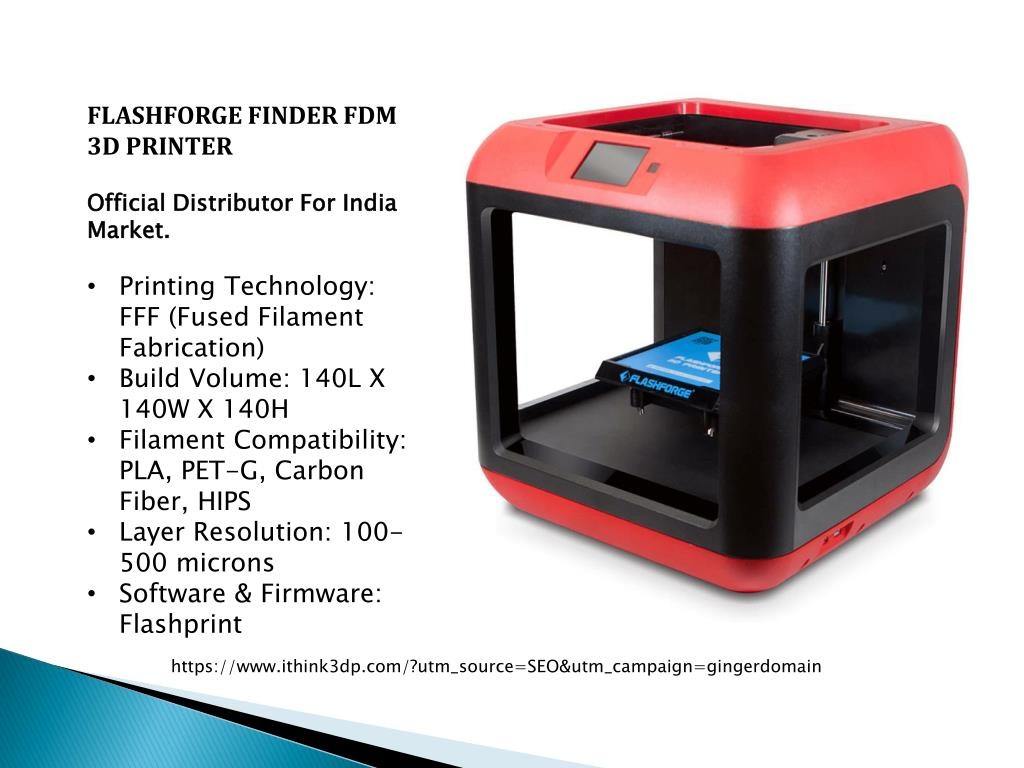 PPT - 3D printers Distributor & Reseller in India | iThink3dp
