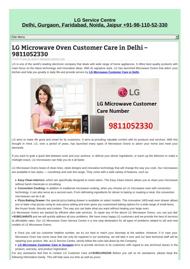 Ppt Lg Microwave Service Center In Gurgaon Powerpoint Presentation Free Download Id 7979187