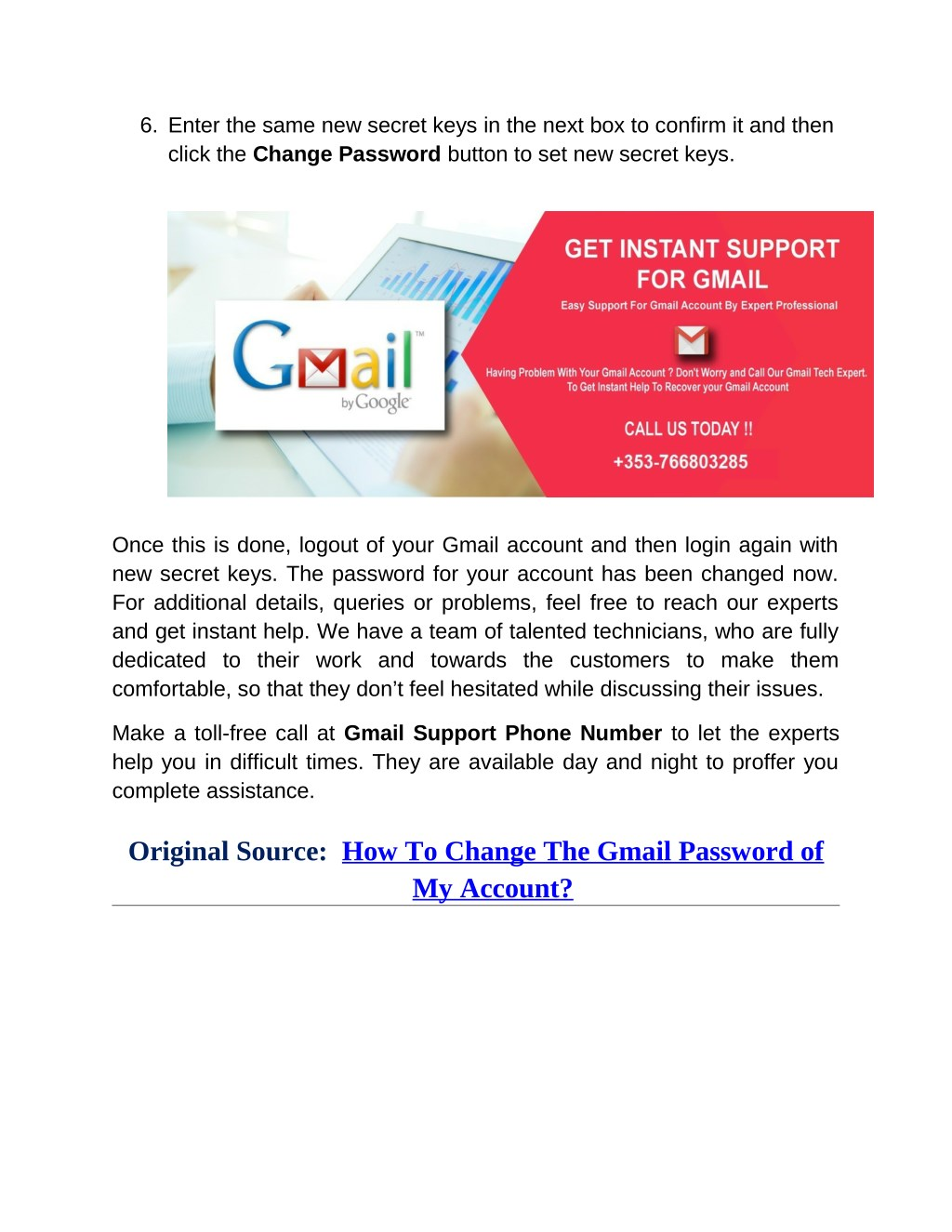 PPT - How To Change The Gmail Password of My Account? PowerPoint