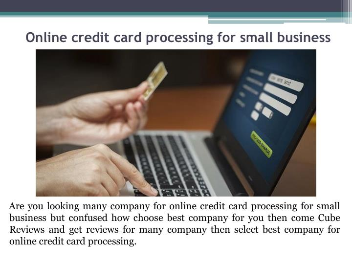 online credit card processing for small business - Online Credit Card Processing For Small Business