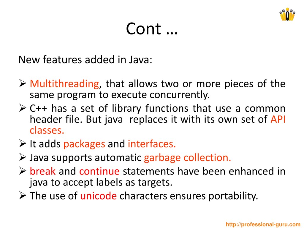PPT - Introduction to JAVA PowerPoint Presentation - ID:7980485