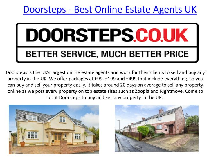 Doorsteps Best Online Estate Agents Uk