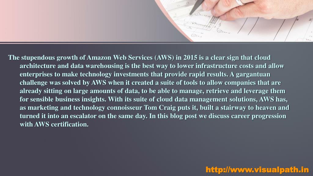 PPT - AWS Online Training in Hyderabad | AWS Certification Training