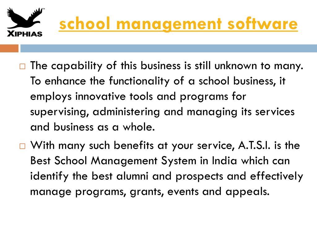 PPT - school management software PowerPoint Presentation