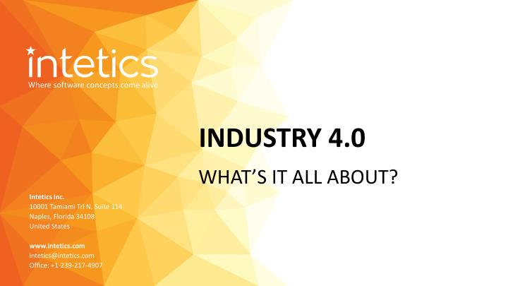 Ppt Industry 4 0 Powerpoint Presentation Free Download Id 7981106