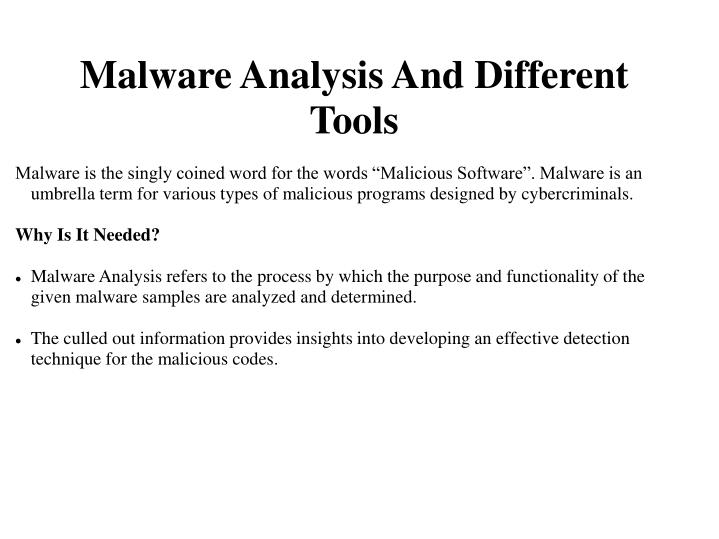 malware is the singly coined word for the words n.