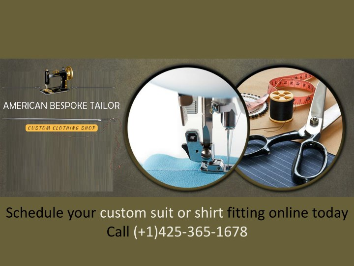schedule your custom suit or shirt fitting online n.