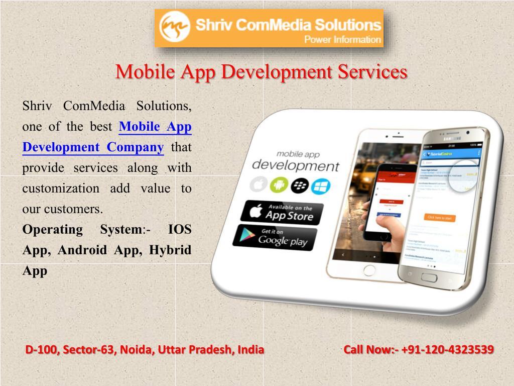 PPT - Software development mobile apps, web solution