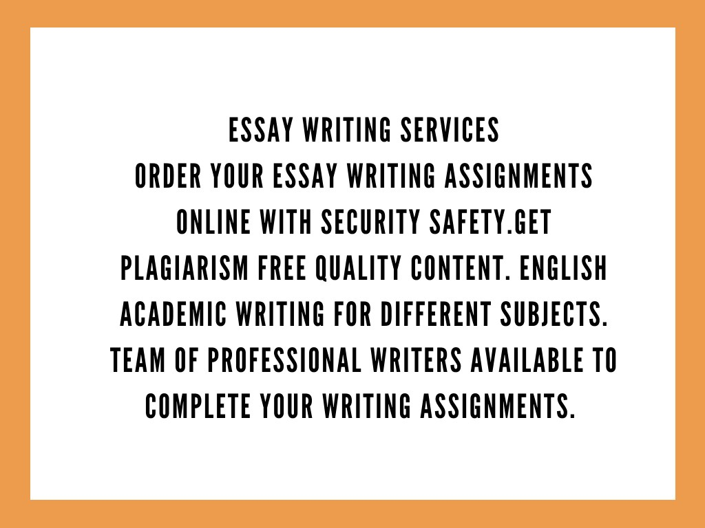 Free writing services