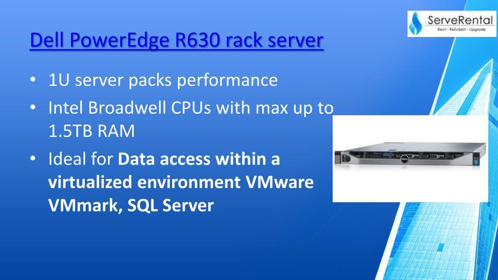 PPT - Dell 13 Gen servers PowerPoint Presentation - ID:7982528
