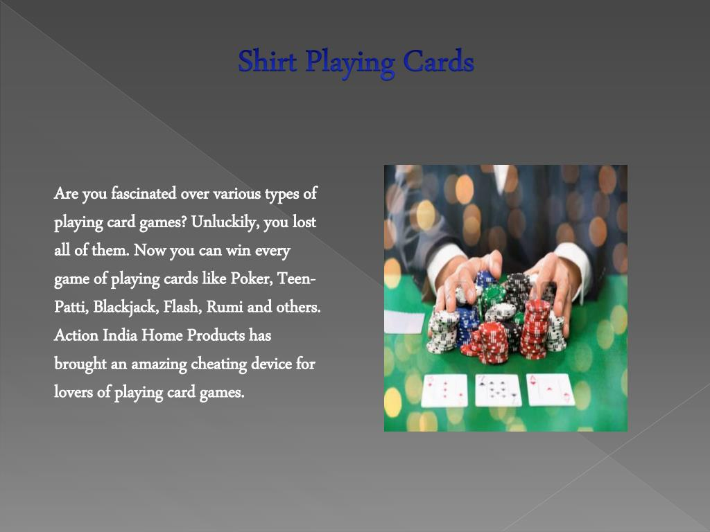 PPT - Best Cheating Playing Cards in Delhi PowerPoint