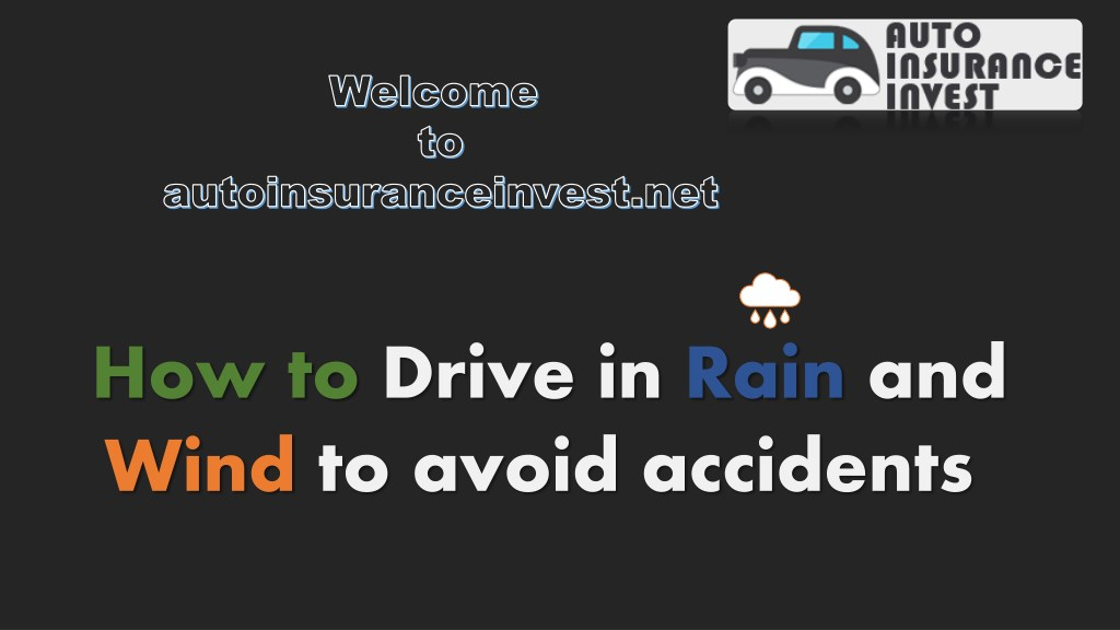 ppt 10 ways to drive safe in rain and wind powerpoint presentation