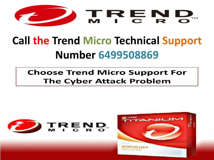 call the trend micro technical support number n.