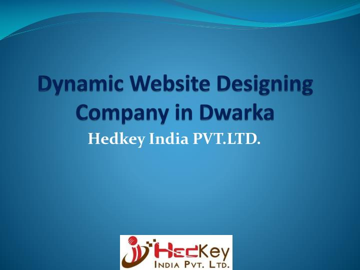 dynamic website designing company in dwarka n.