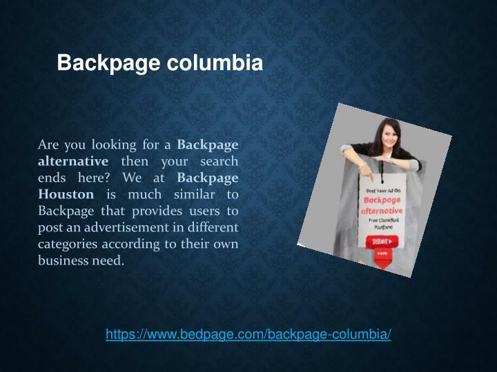 Back page columbia mo