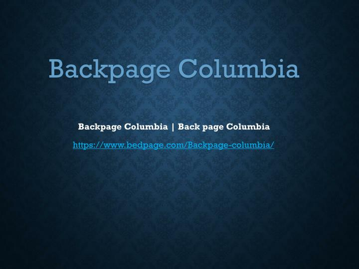 Www backpage com columbia