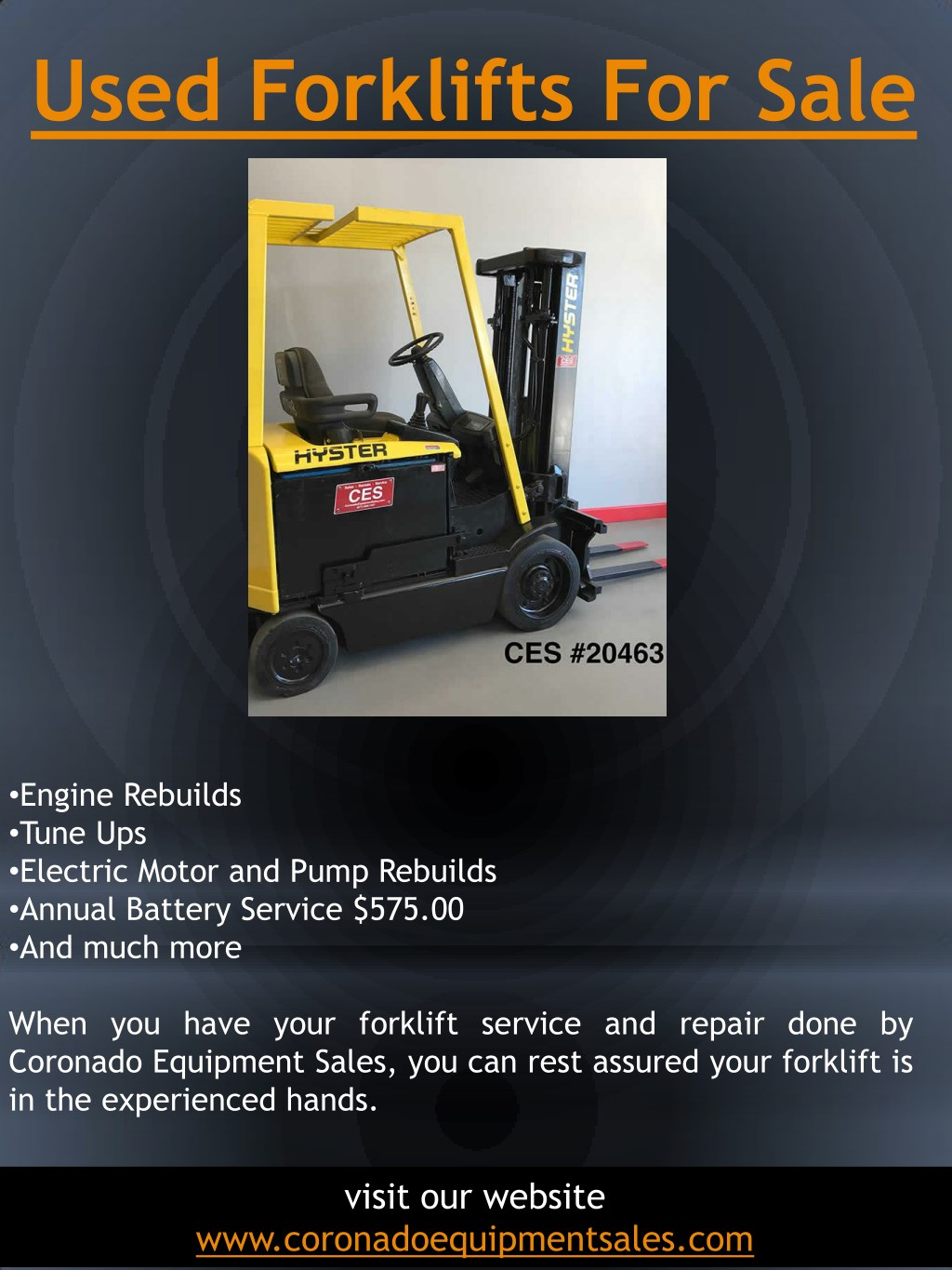 PPT - Used Forklifts For Sale PowerPoint Presentation - ID
