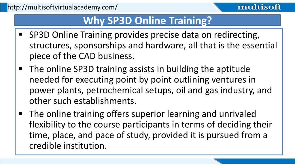PPT - Smart Plan 3D (SP3D) Online Training Course PowerPoint