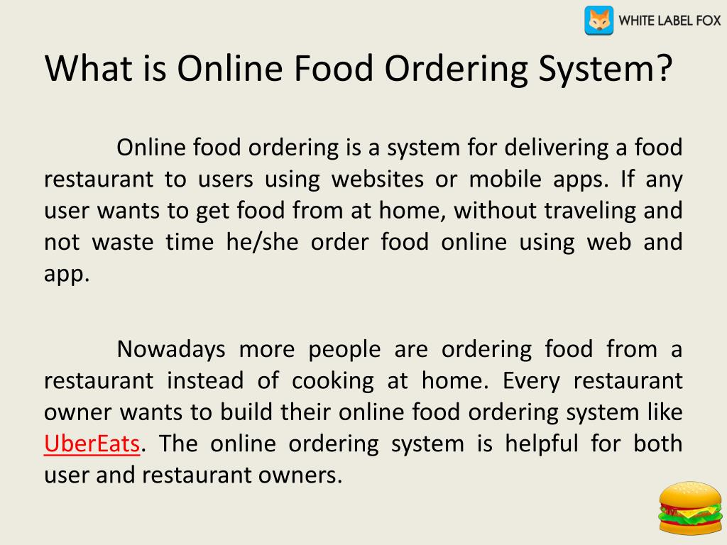 PPT - How to Start Your Online Food Ordering Business