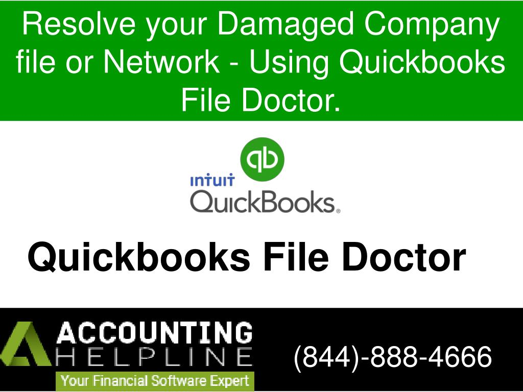 ppt resolve your damaged company file or network using
