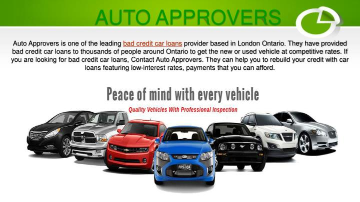 Bad Credit Car Loans >> Ppt Auto Loans Bad Credit Powerpoint Presentation Id 7984189