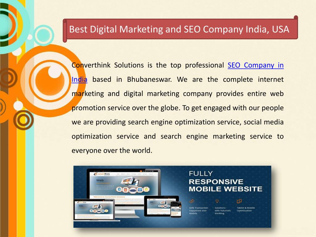 PPT - Best Digital Marketing and SEO Company India, USA PowerPoint