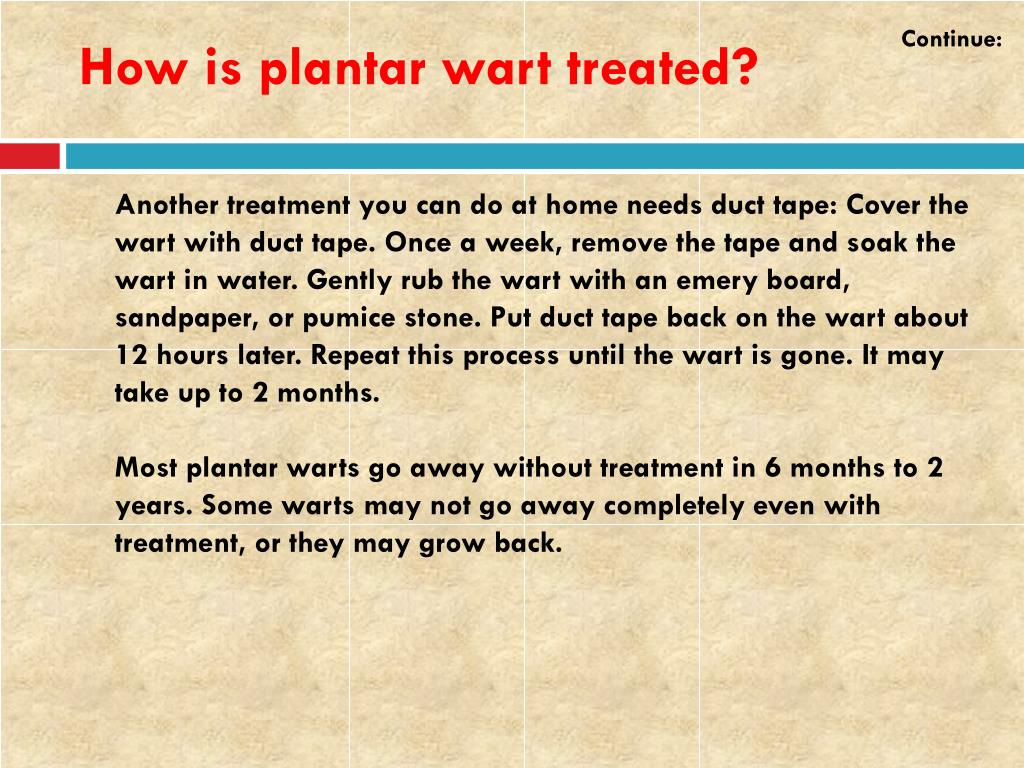 PPT - Plantar Wart: Causes, Symptoms, Daignosis, Prevention
