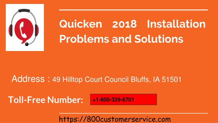 PPT - Quicken 2018 Installation Problems and Solutions