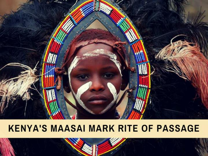 kenya s maasai mark rite of passage n.