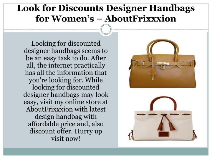 40e5e2f38718 PPT - Latest Designer Handbags for Cheap for Men's & Women's â ...