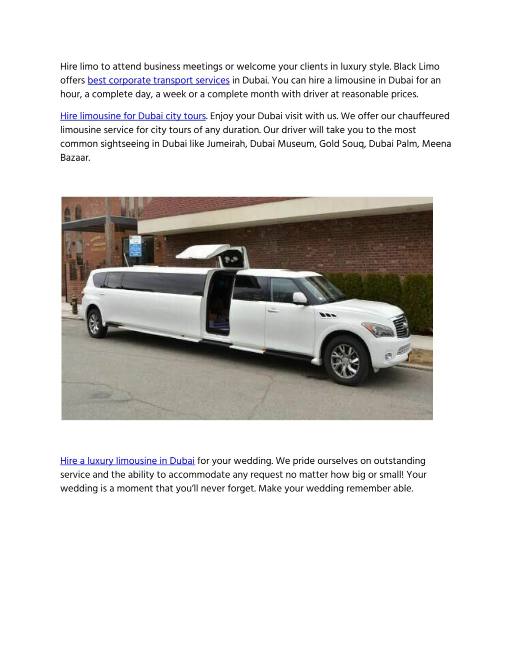 PPT - Black Limo Service Dubai PowerPoint Presentation - ID:7986287