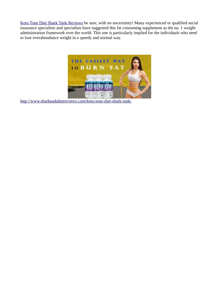 keto tone diet shark tank reviews be sure with n.