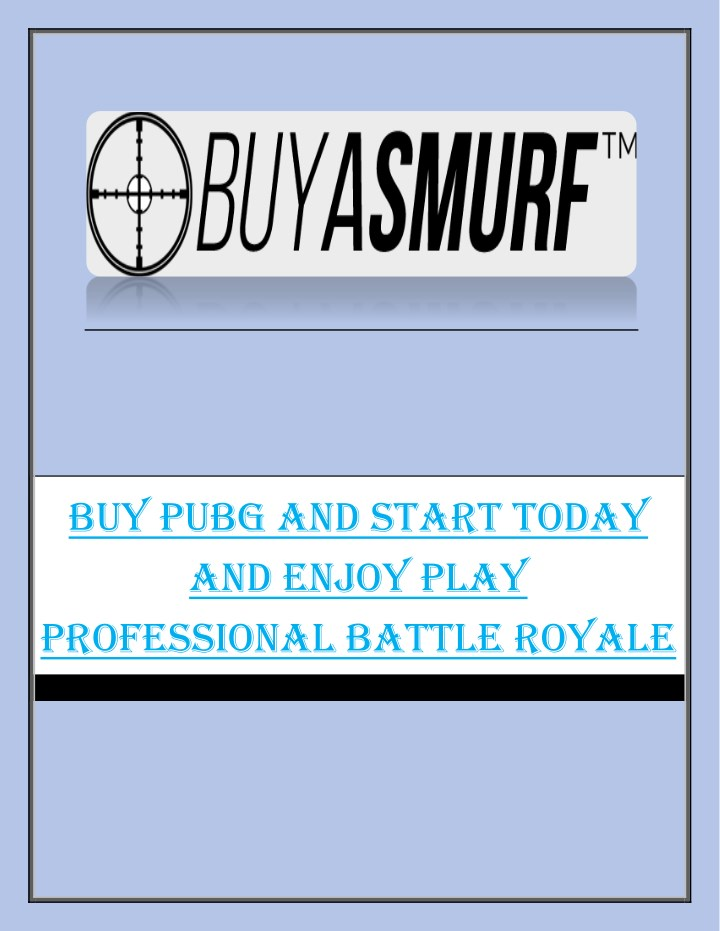 buy pubg and start today and enjoy play n.