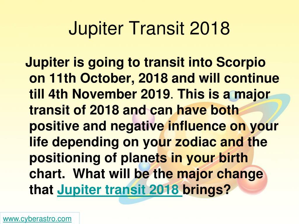 PPT - Understand Jupiter Transit 2018 Before You Regret PowerPoint