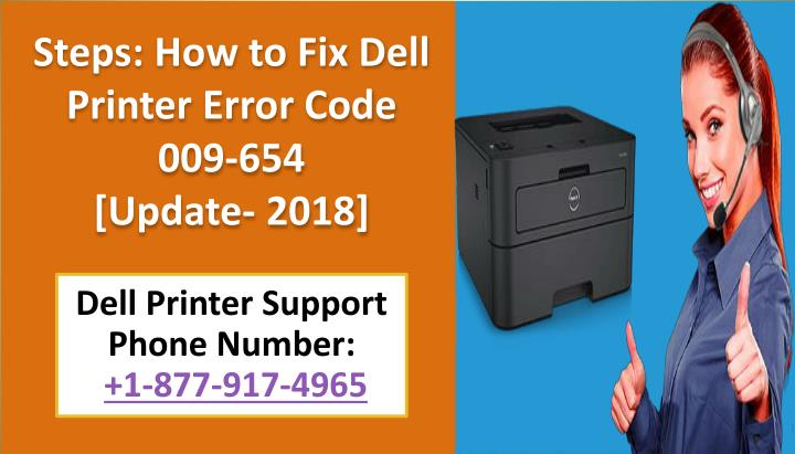 steps how to fix dell printer error code n.