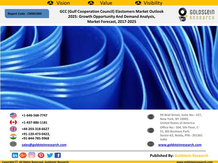 PPT - GCC (Gulf Cooperation Council) Elastomers Market