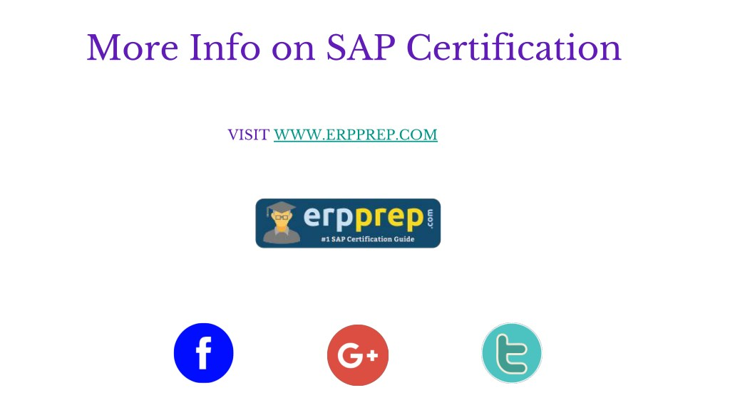PPT - How to Prepare for SAP S/4HANA Financials Professional