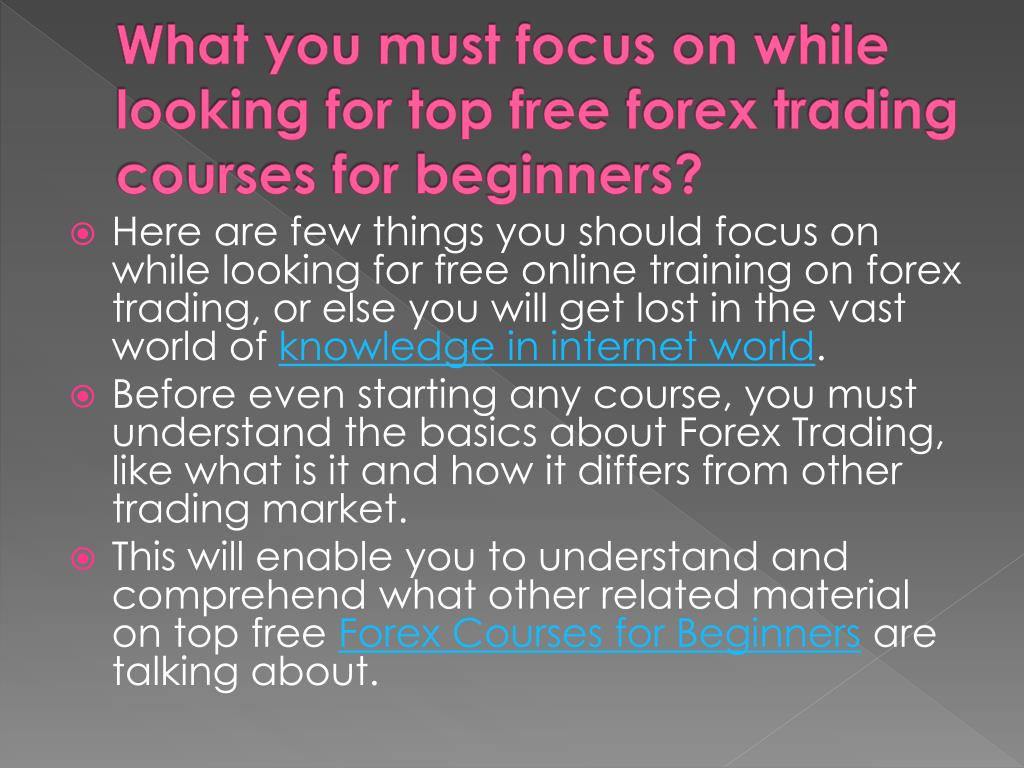 Forex Trading Tutorial Ppt - Forex Success System